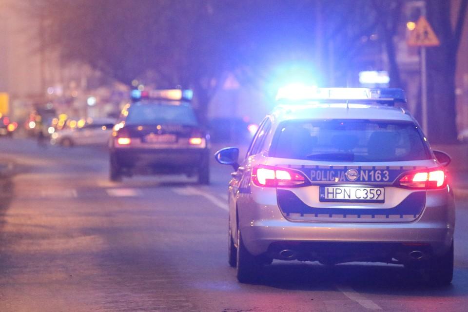 В Польше перевернулся пассажирский автобус