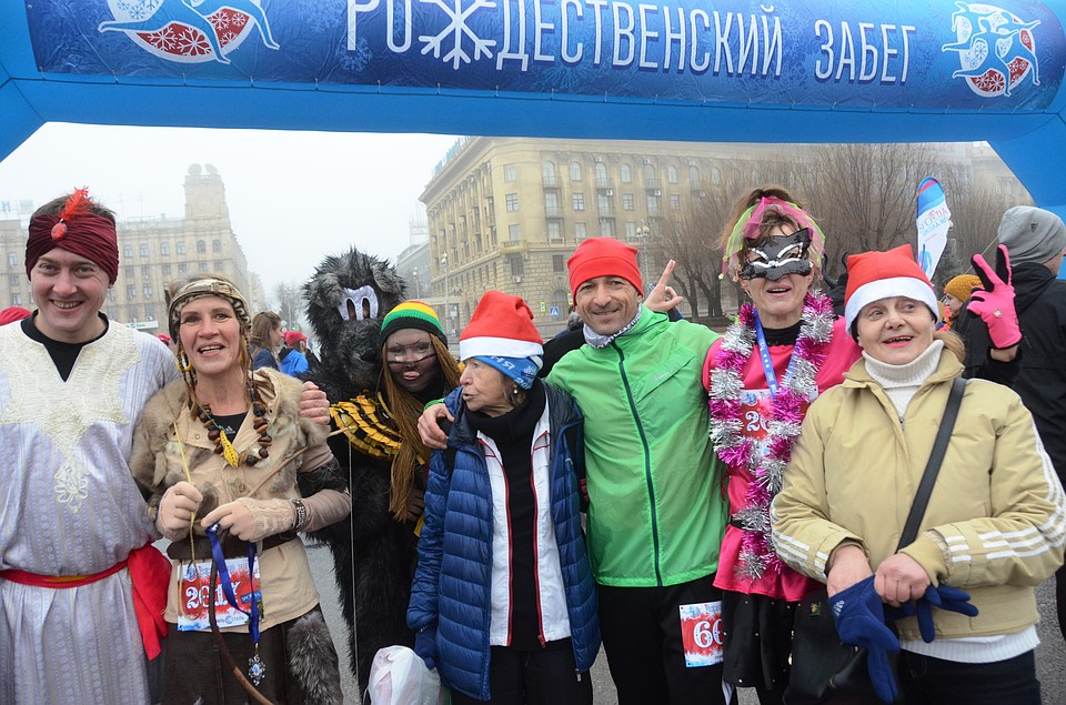 0ecbfe935e72 Волгоградцев приглашают на Рождественский забег 2019