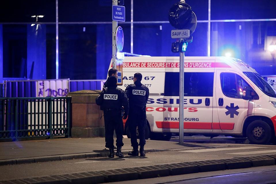 СМИ сообщили о четырех погибших во время Стрельбы в Срасбурге