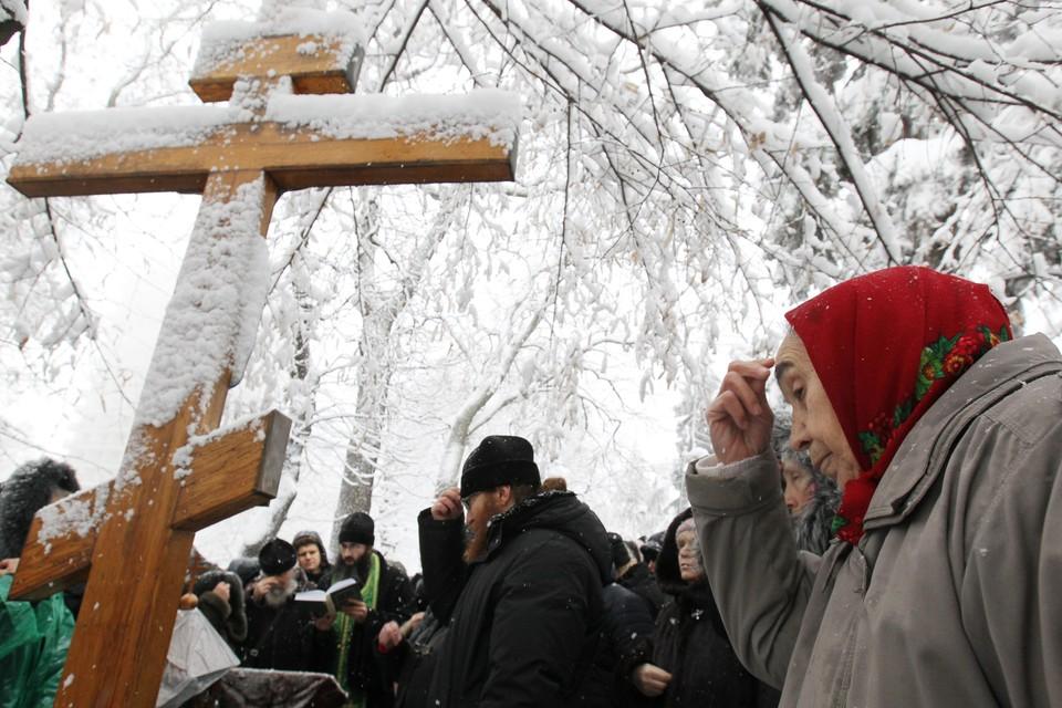 Сторонники УПЦ митингуют в Киеве