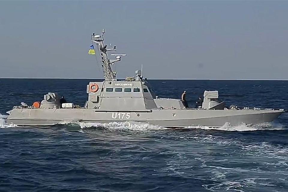Бронекатер ВМФ Украины семейства «Гюрза-М»