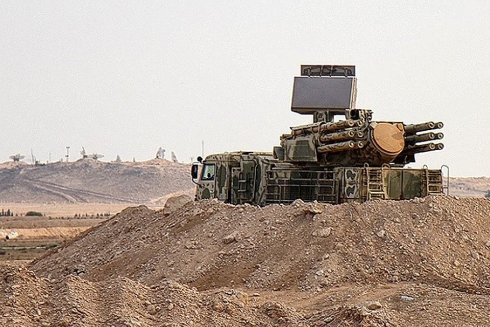 Зенитный ракетно-пушечный комплекс (ЗРПК ) «Панцирь-С1»