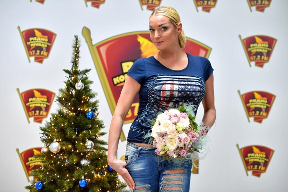 Анастасия Волочкова в гостях у Радио «Комсомольская правда»