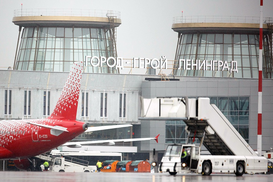 Санкт-Петербург. Аэропорт `Пулково`.