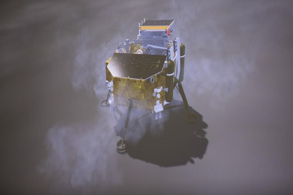 Китайский космический аппарат «Чанъэ-4» успешно сел на обратной стороне Луны