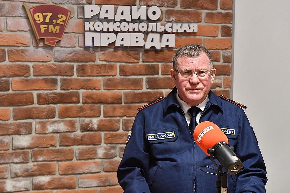 Замруководителя Федерального медико-биологического агентства, доктор медицинских наук Вячеслав Рогожников.