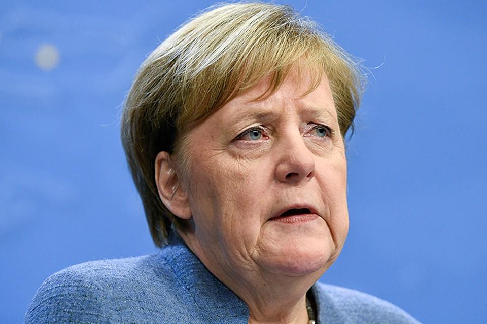 Также источник «КП» в пресс-секретариате Меркель сослался на её выступление во время визита в Киев 1 ноября прошлого года