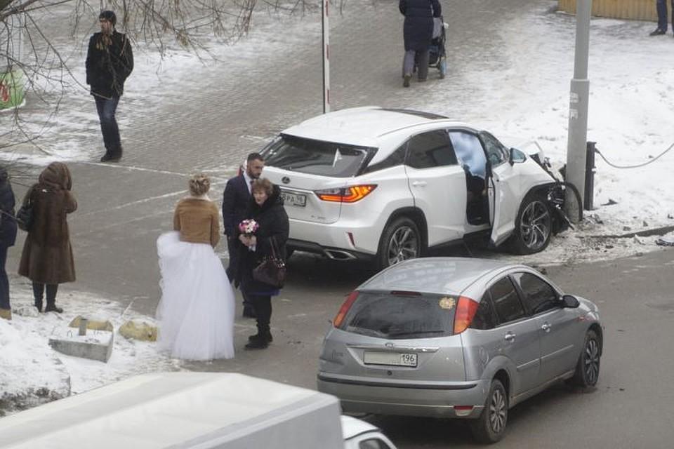 Папа с сыном ехали и попали в аварию
