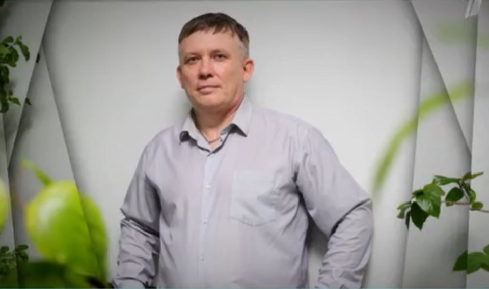 """Несмотря на пережитое, Ростислав не унывает и верит, что еще будет счастлив. Фото: кадр из видео """"Первого канала"""" передачи """"Давай поженимся"""""""