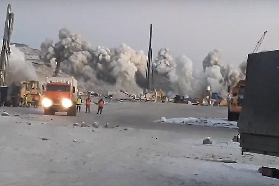 07a4a0af3a74 В Мурманске 17 января прозвучат строительные взрывы