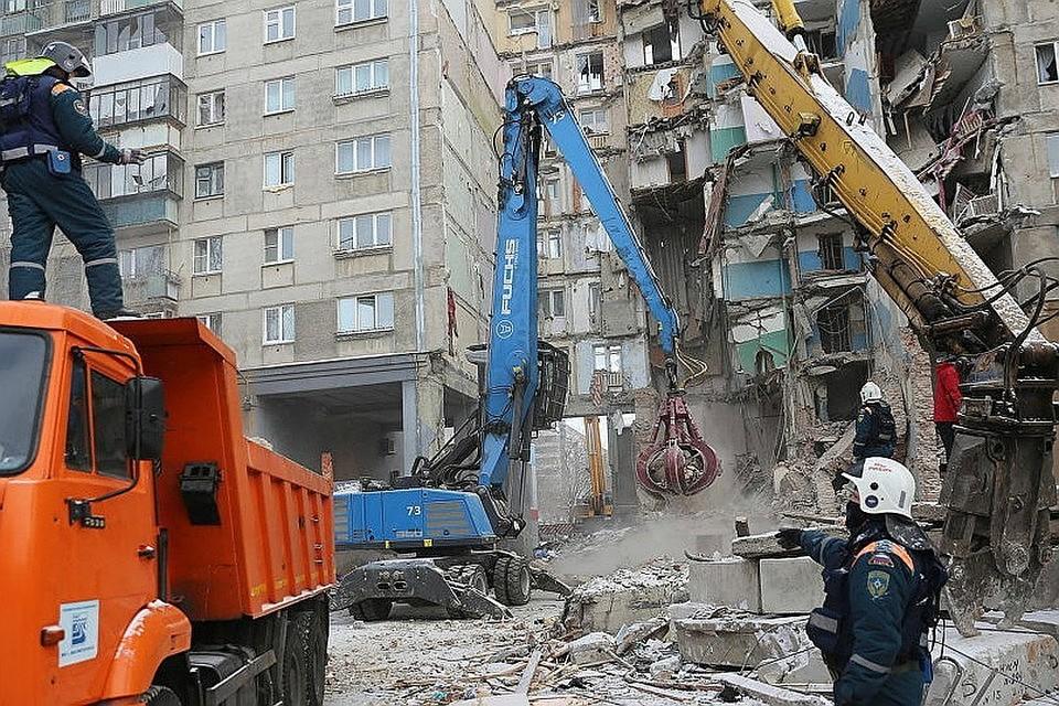 Судя по показаниям свидетеля, эпицентр взрыва был на втором этаже. ФОТО: МЧС РФ
