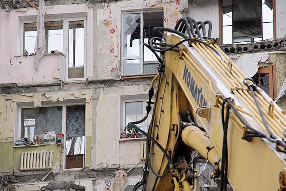 31 декабря в Магнитогорске обрушился подъезд многоэтажного жилого дома