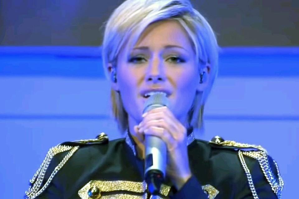 Немецкая певица Хелена Фишер.