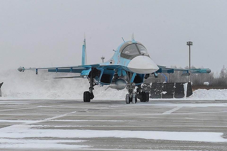 В Хабаровском крае два военных истребителя-бомбардировщика столкнулись в воздухе