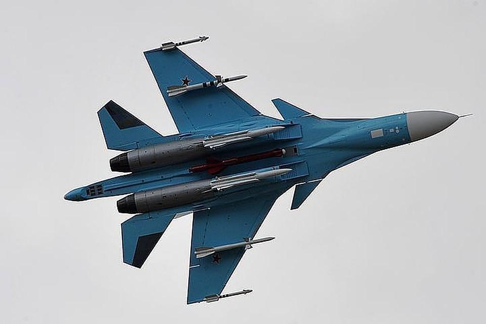 Ранее в пятницу два Су-34 столкнулись в небе над Дальним Востоком