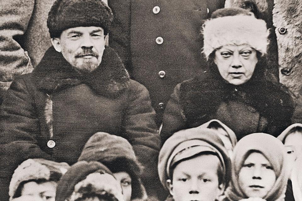 Ленин и Крупская любили детей, но собственными наследниками не обзавелись. Фото: Ф. ФЕОФАНОВ/РИА Новости
