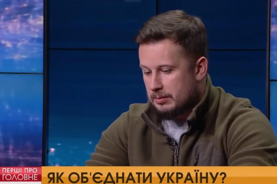 Депутат Верховной рады Украины Андрей Билецкий. Фото: скриншот видео