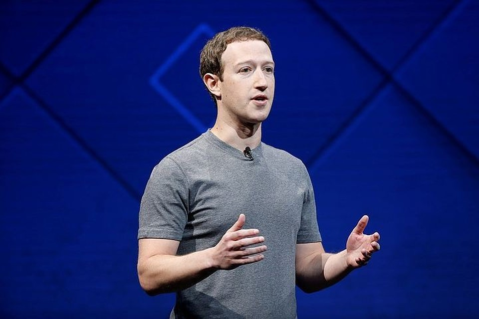 Глава компании Facebook Марк Цукерберг