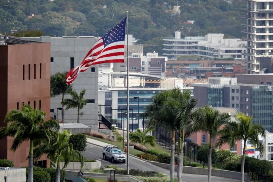 Американское посольство в Каракасе