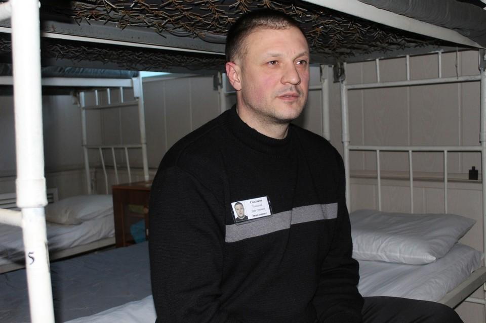 Николай Сандаков отбывает срок в копейской колонии. Фото: пресс-служба ОНК по Челябинской области