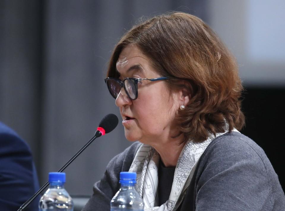 Зельфира Трегулова -директор Третьяковки