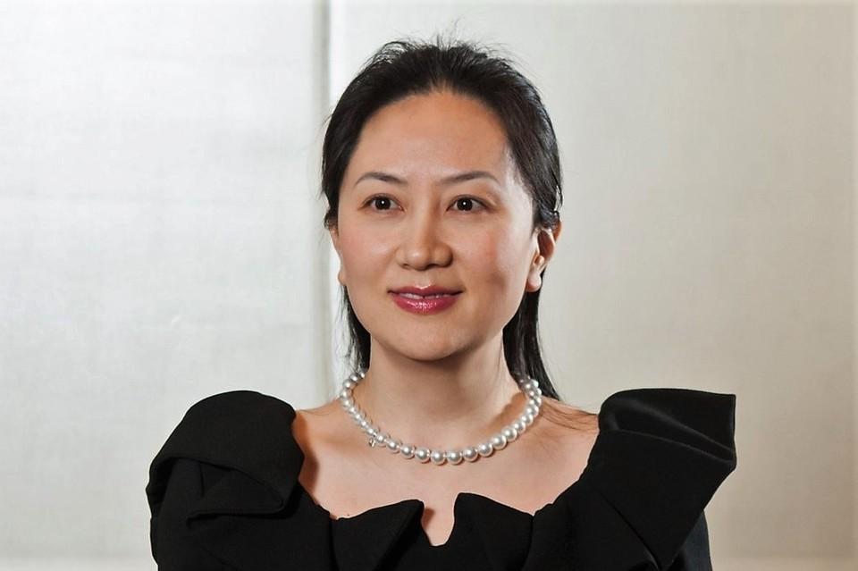 Финансовый директор китайской компании Huawei Мэн Ваньчжоу