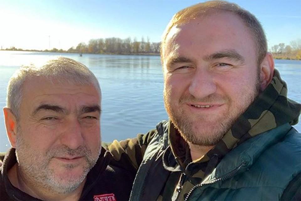 Отец и сын Арашуковы