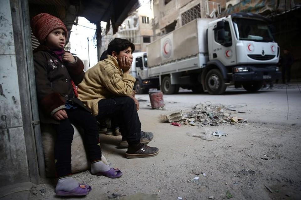 Курды не пропустили гуманитарный конвой в один из населенных пунктов Сирии