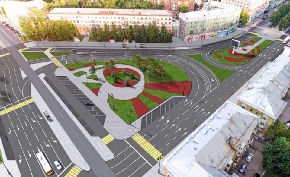 f0ae204ae В центре Перми уберут троллейбусы и сделают тротуары из гранита