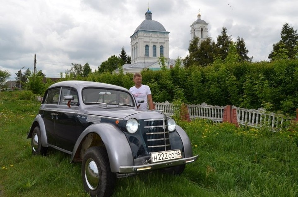 """Москвич-401"" 1953 года идентичен автомобилю ""Opel Kadett K 38"""