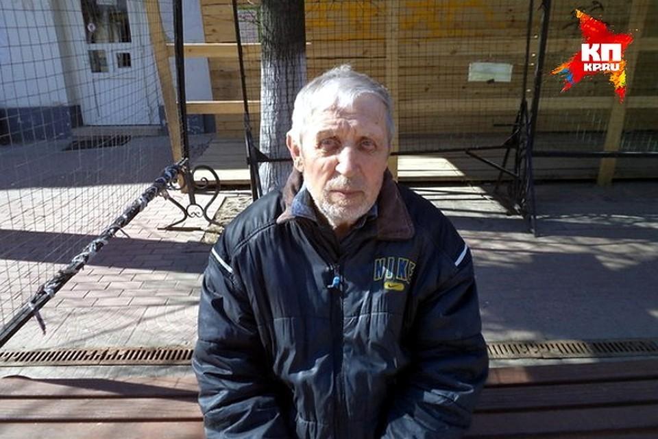 Евгений Карасёв - бывший вор-карманник стал известным поэтом Фото: Виктория ЕФРЕМОВА