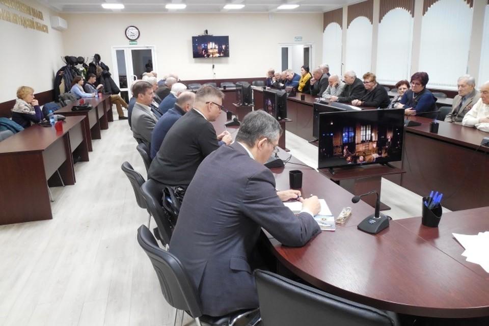 Спецпоказ был устроен в зале Общественной палаты Калининградской области.