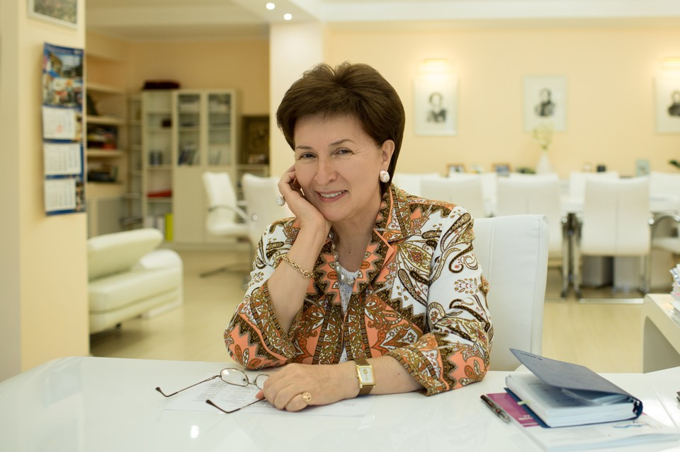 Алина Афакоевна Левитская, ректор СКФУ