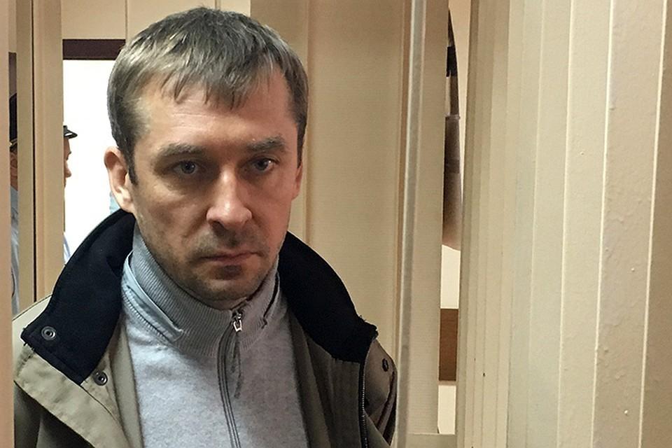 Дмитрий Захарченко после задержания в 2016 году.