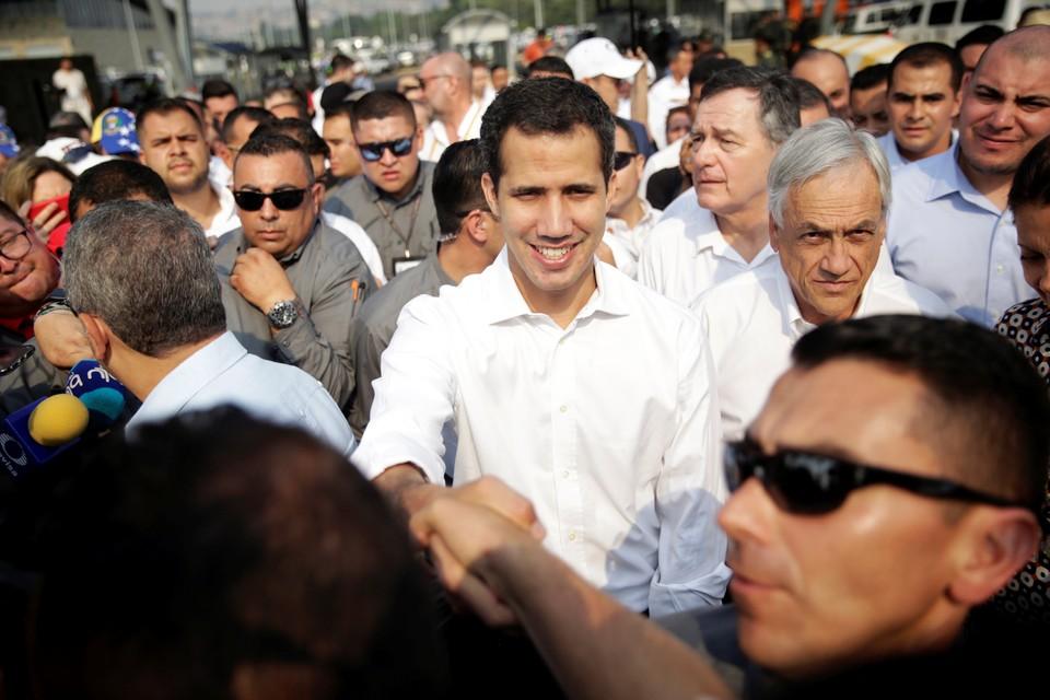 Оппозиционный лидер Хуан Гуайдо