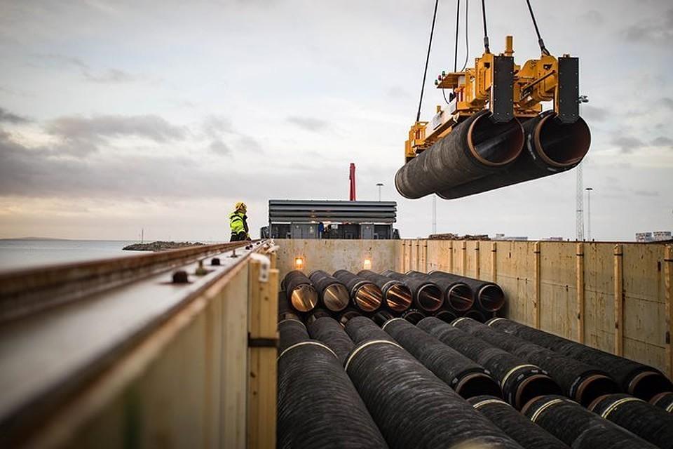Ввод «Северного потока-2» запланирован на декабрь 2019 года.