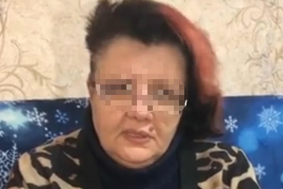 Бабушка погибшей девочки поблагодарила кировчан за материальную помощь. Фото: скриншот с видео