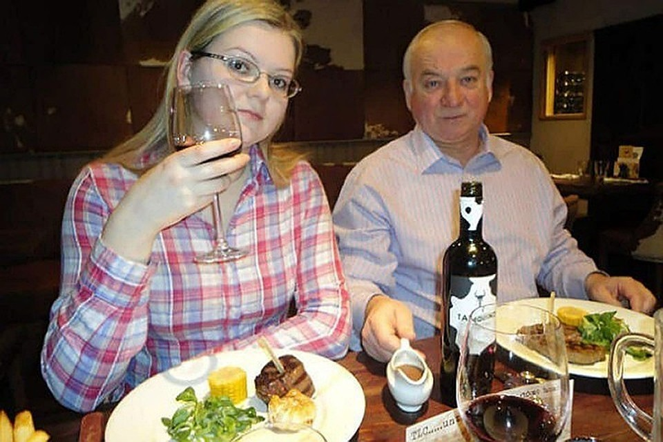 Сергей Скрипаль и его дочь Юля были отравлены в Солсбери 4 марта 2018 года