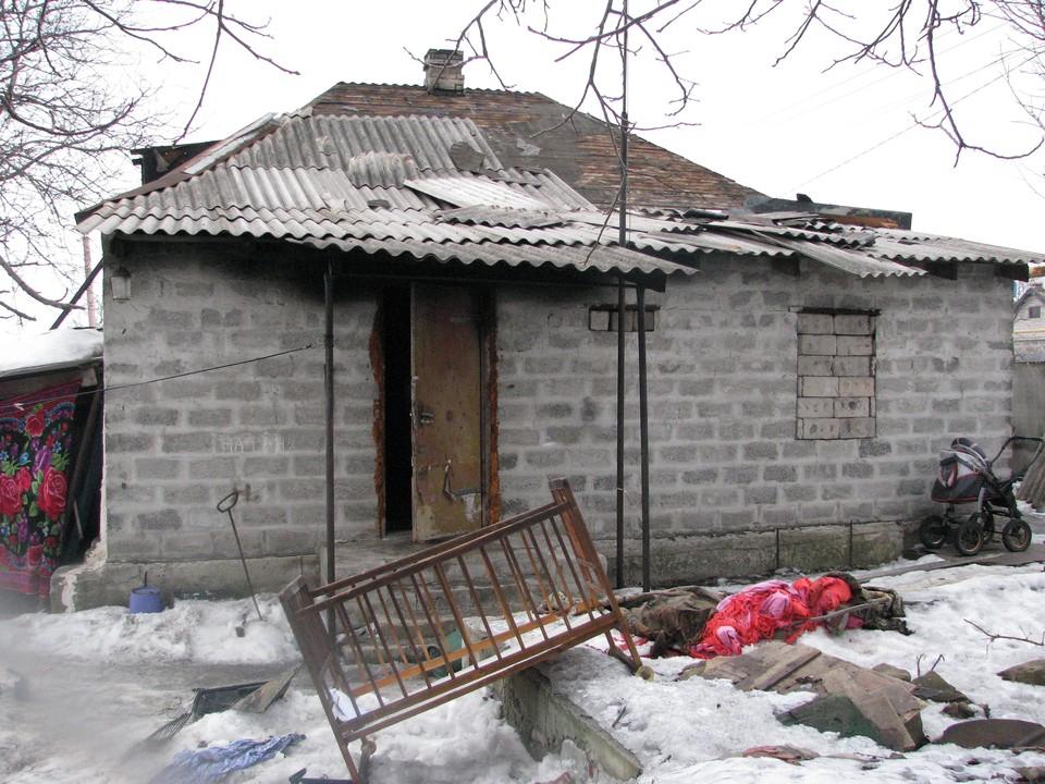 Ясиноватая скорбит: на пожаре погибли трое маленьких детей