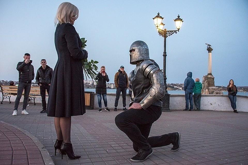 """""""Выйдешь за меня?"""" - спросил Александр у Наталии"""