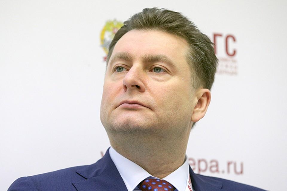 Заместитель министра промышленности и торговли Российской Федерации Александр Морозов. Фото: Сергей Бобылев/ТАСС