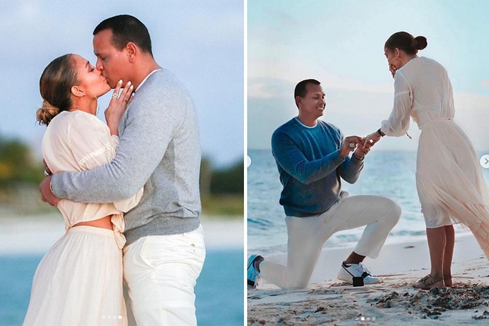 Image result for Как Дженнифер Лопес и Алекс Родригес отпраздновали помолвку?