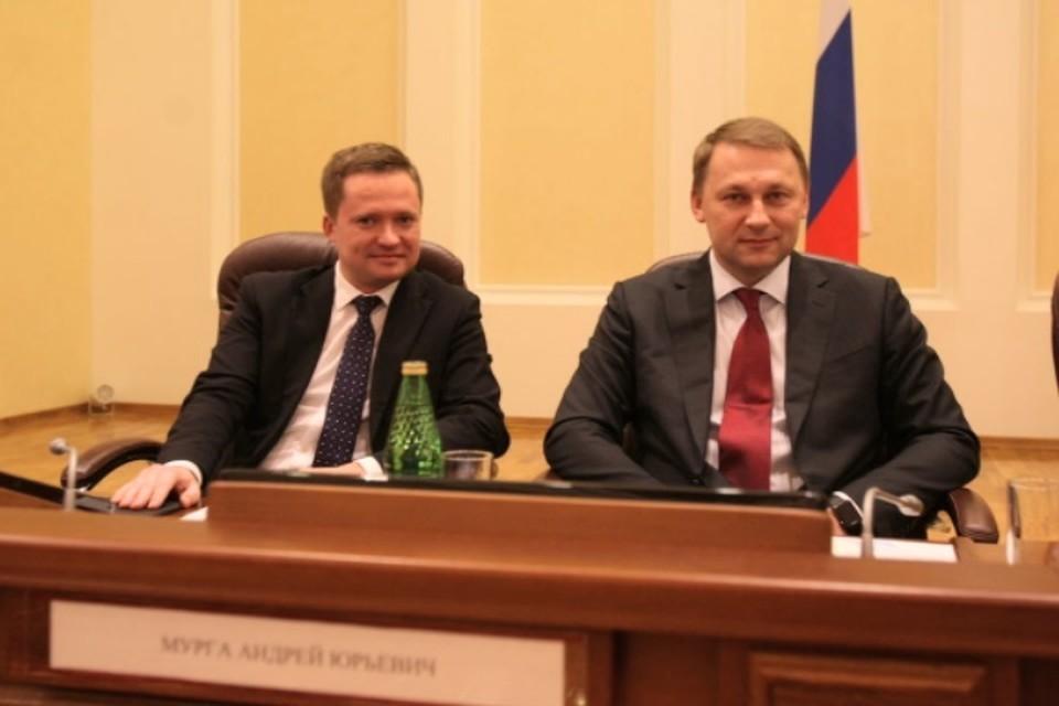 Заур Абдурахимов и Андрей Мурга