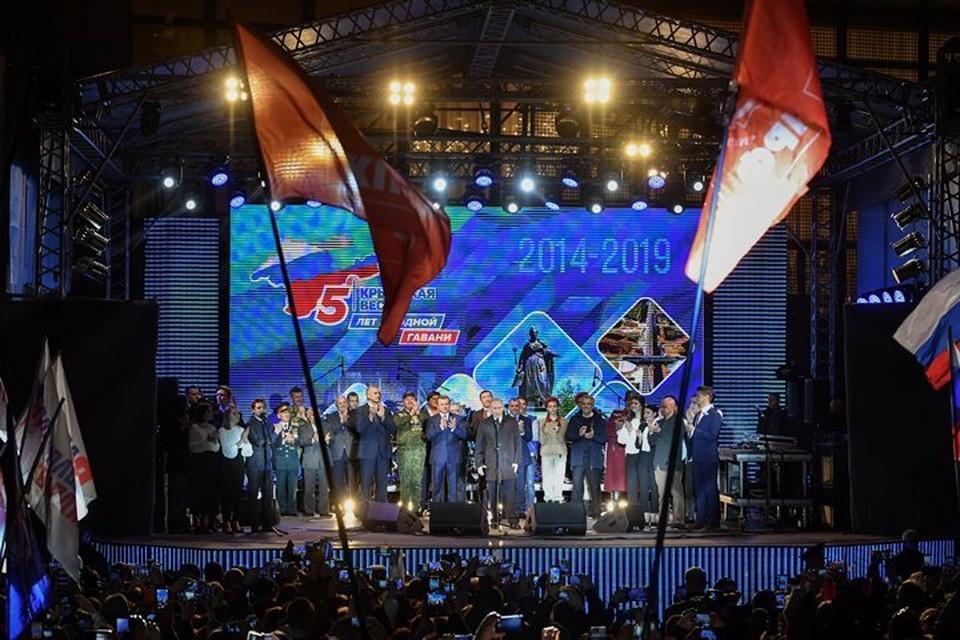 В эти дни Крым отмечает пятую годовщину воссоединения с Россией