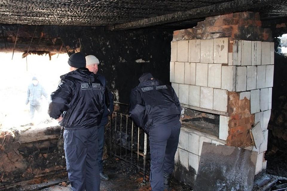 Пожар мог произойти из-за неисправной печки. Фото: СК.
