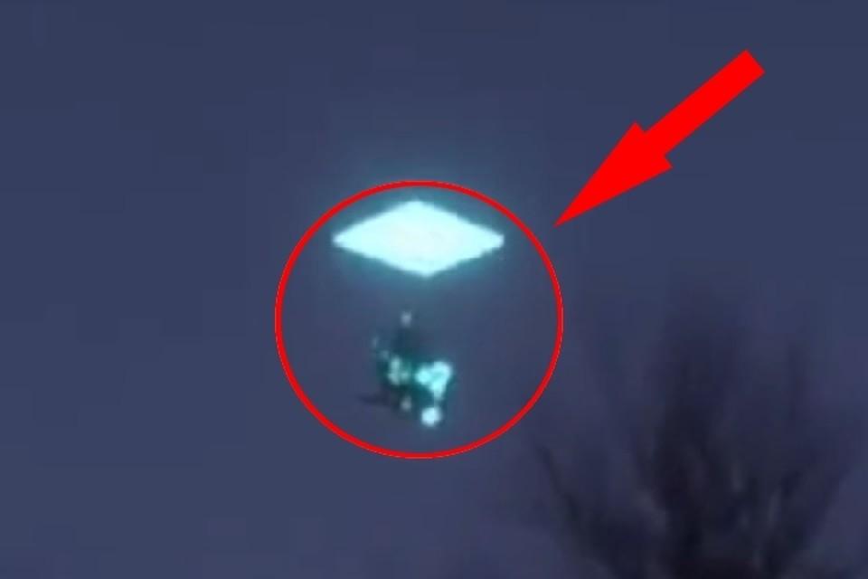 Очевидцы сняли НЛО в небе над селом Труновское. Фото: кадр видео