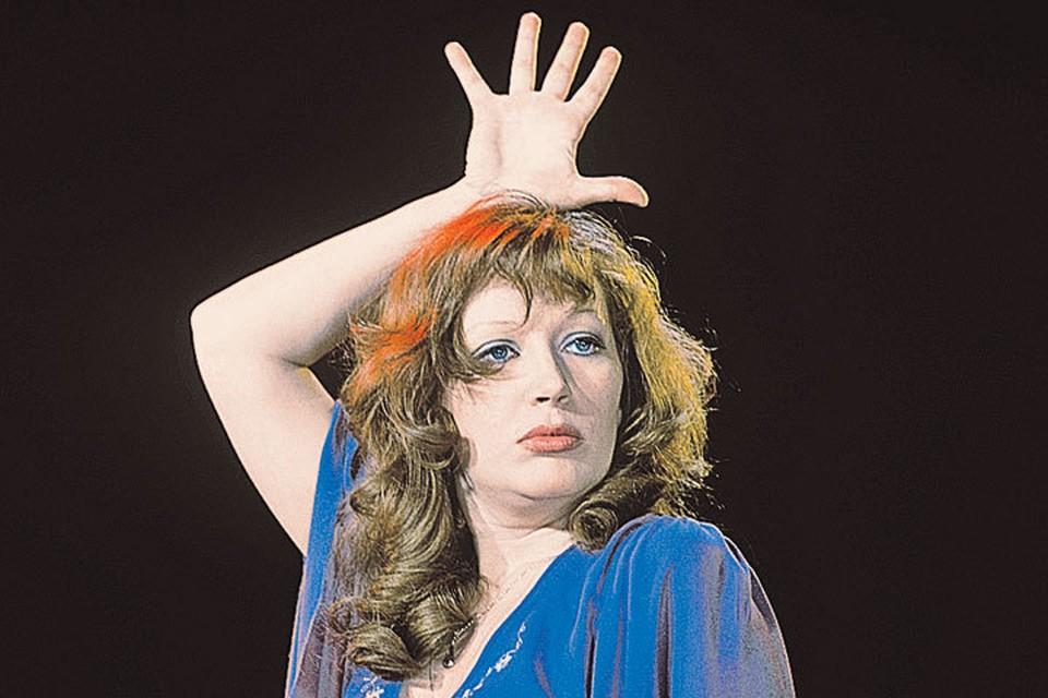 Еще в 70-е Пугачева показывала, что она - королева эстрады...