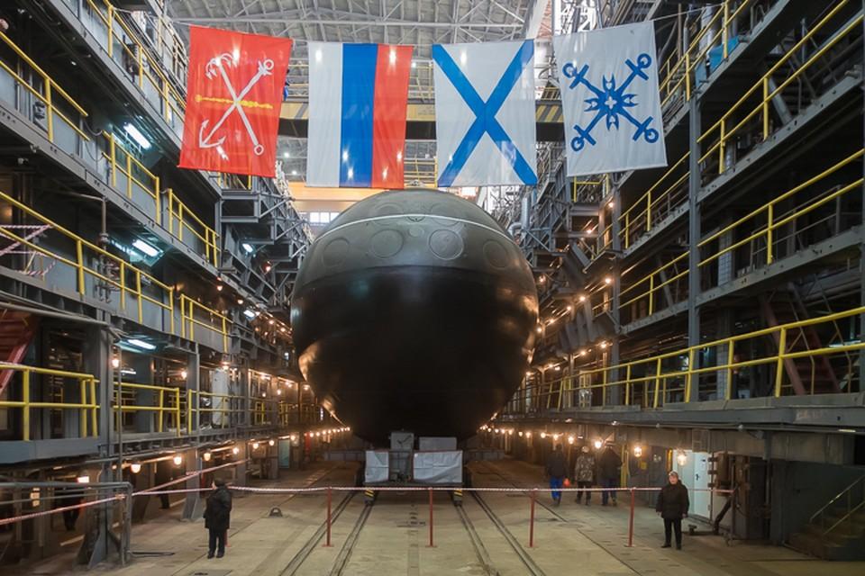 Субмарину «Петропавловск-Камчатский» спустили на воду