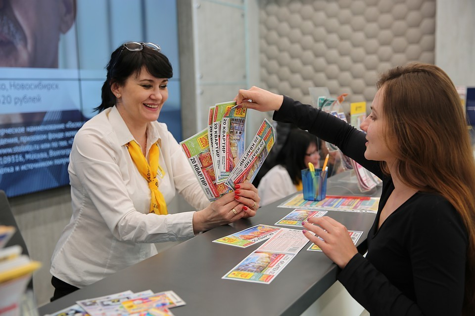 Санкт-Петербург оказался самым везучим регионом России. Фото: пресс-служба АО ТД «Столото»