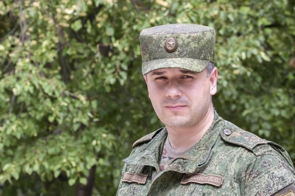 Даниил Безсонов рассказал о взятии в плен украинского диверсанта. Фото: Официальный сайт ДНР